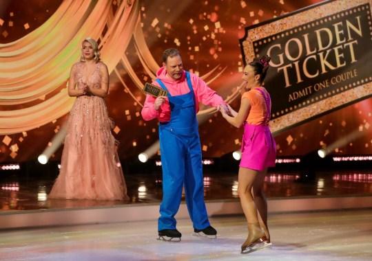 Rufus Hound Dancing on ice