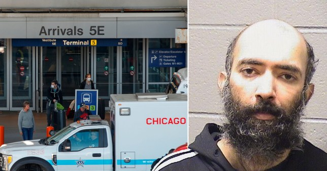 Man was living in Chicago airport because he was scared of Covid