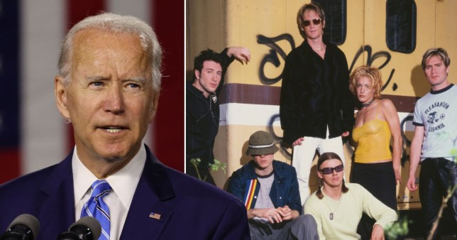 New Radicals to reform after 22 years for Joe Biden inauguration and we suppose You Get What You Give pics: Getty/Mick Hutson