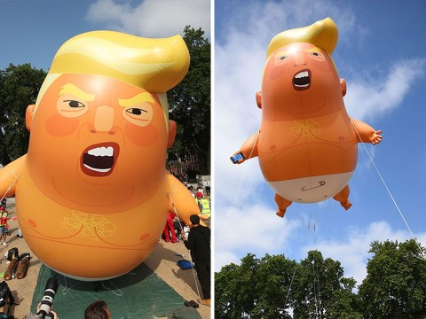 Donald Trump baby blimp to be put in London museum