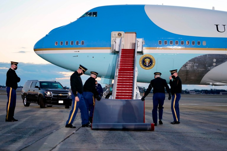 Air Force One at Joint Base Andrews