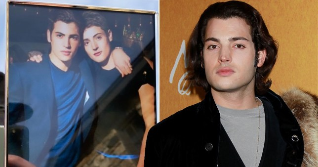Harry Brant and brother Peter