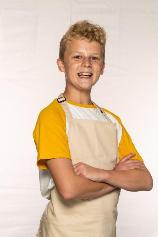 Bake Off Juniors - Robbie