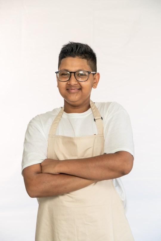 junior bake off - reece