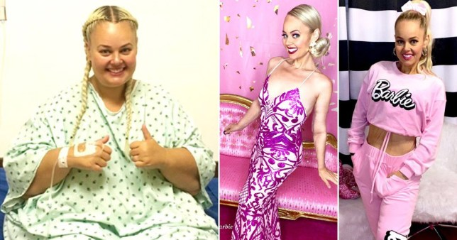 Woman loses weight to look like Barbie