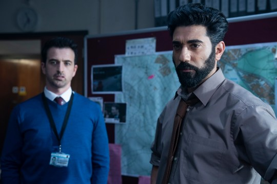 BUCCANEER MEDIA FOR ITV MARCELLA SERIES 3 EPISODE 2 Pictured: ARAY PANTHAKI as Rav and EUGENE O?HARE as Eddie. This photograph must not be syndicated to any other company, publication or website, or permanently archived, without the express written permission of ITV Picture Desk. Full Terms and conditions are available on www.itv.com/presscentre/itvpictures/terms For further information please contact: Patrick.smith@itv.com 07909906963