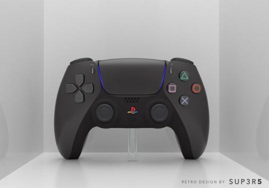 SUP3R5 retro PS5 controller