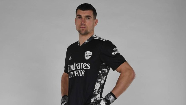 Ryan has joined the Gunners on loan until the end of the season