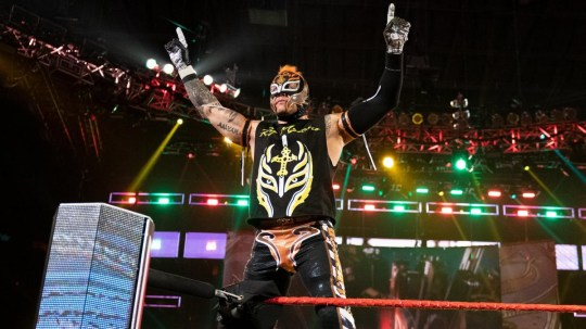 WWE superstar Rey Mysterio