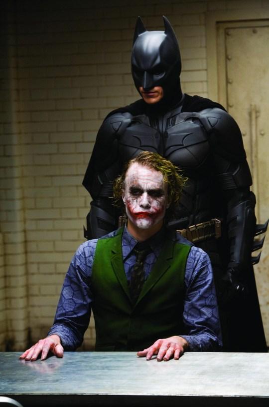 Heath Ledger as The Dark Knight