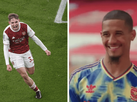 William Saliba sends class message to Emile Smith Rowe after Arsenal's win over Newcastle