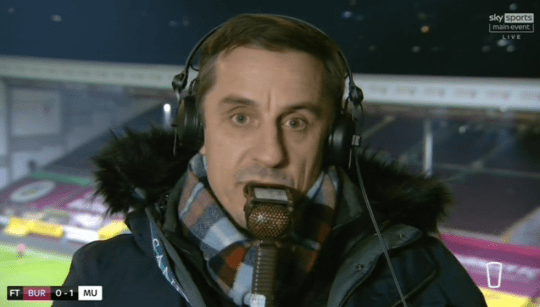 Gary Neville reacts to Manchester United's win on Sky Sports