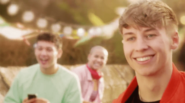 Sid, Ollie and Ripley in Hollyoaks