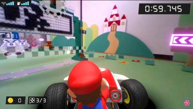 Lego Super Mario Kart combo