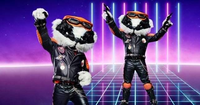 Badger on The Masked Singer UK