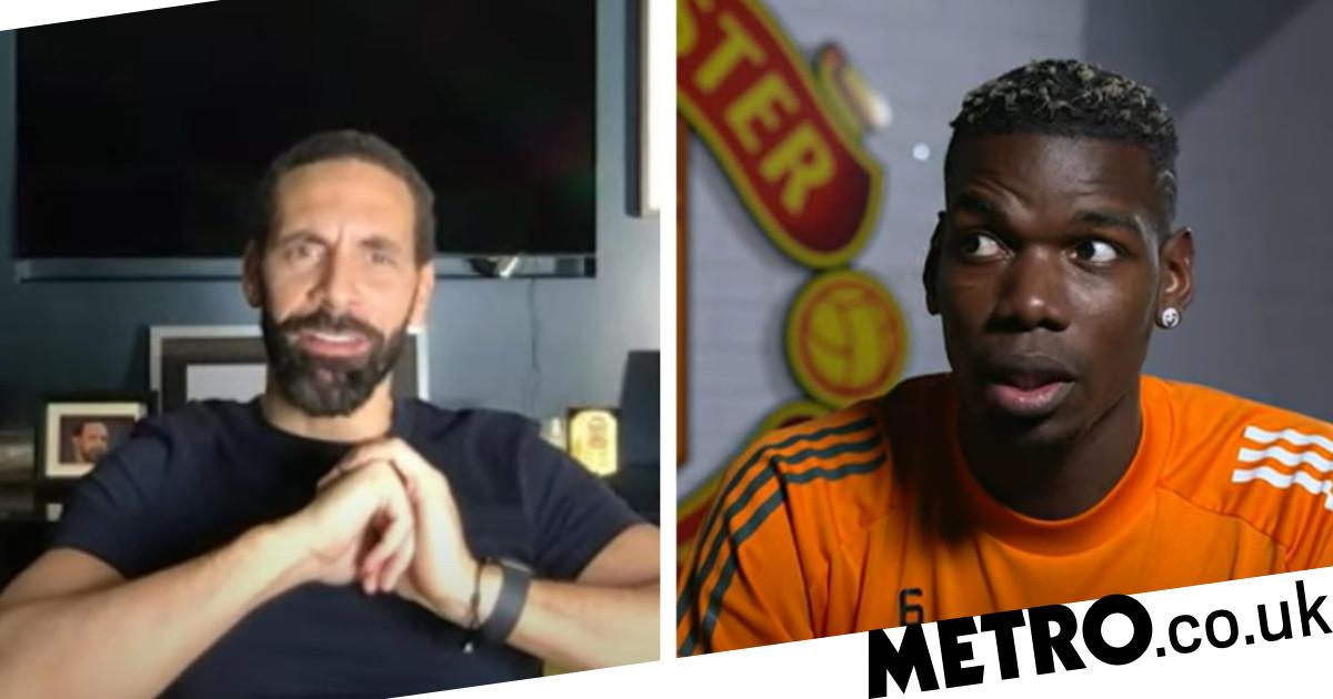Paul Pogba responds to Rio Ferdinand asking him about his Manchester United future - metro