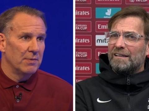 Paul Merson slams Jurgen Klopp team selection and Liverpool forward Divock Origi after Burnley defeat