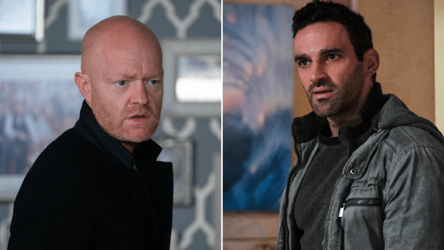 EastEnders - Max Branning and Kush Kazemi