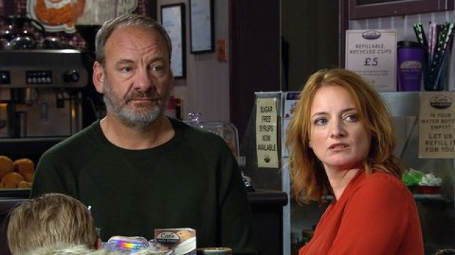 Jimmy and Nicola King in Emmerdale child kidnap story