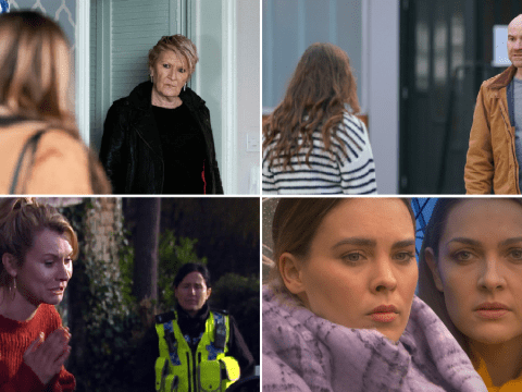 12 soap spoiler pictures: EastEnders abuse revealed, Coronation Street attacker exposed, Emmerdale missing child terror, Hollyoaks confession