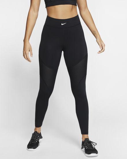 Black Nike training leggings