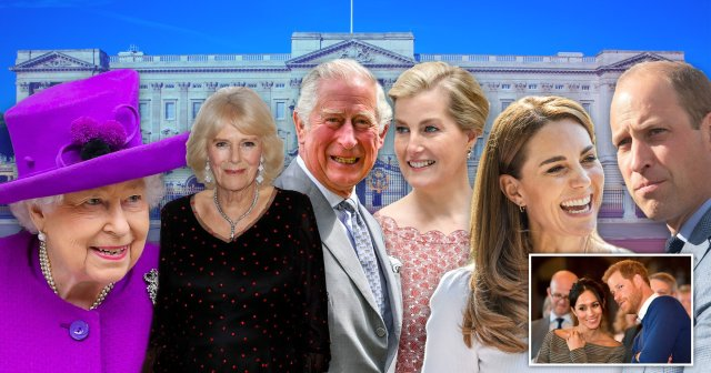 Senior royals appearing in a tv show