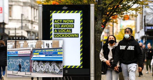 Local lockdown scenes in the UK
