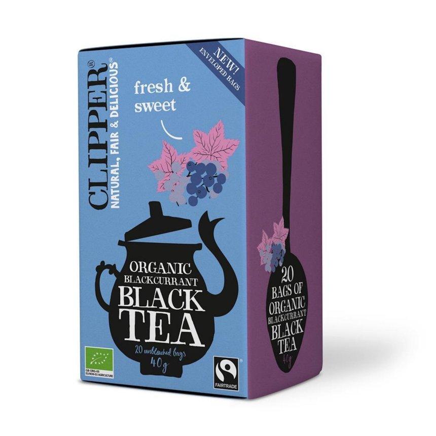Organic Blackcurrant Black Tea