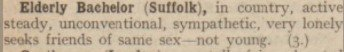 LGBT History Month series: 1920s magazine reveals coded language used by men and women looking for same sex relationships Picture: National Archives