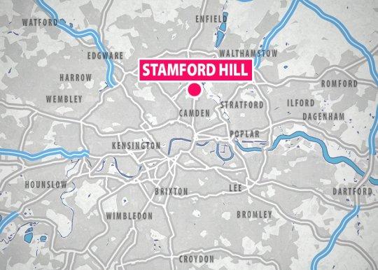 METRO GRAPHICS Stamford Hill locator