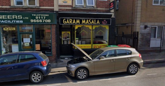 Garam Masala, Bedminster (Picture: Google)