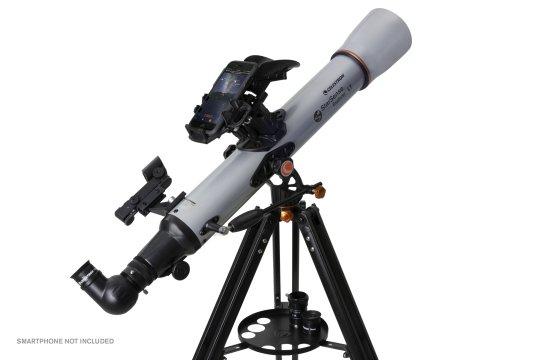 The Celestron StarSense Explorer LT 80AZ Telescope is ideal for beginners. (Celestron)