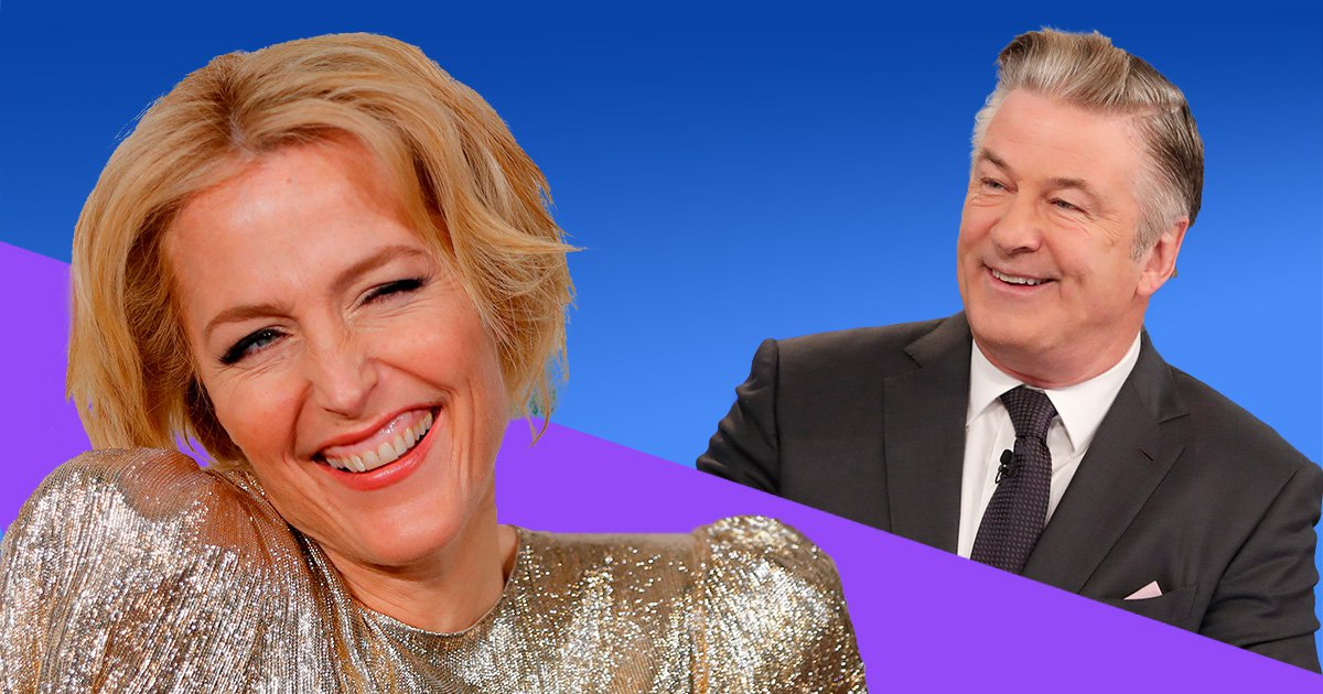 Alec Baldwin deletes his Twitter account after pointing out Gillian Anderson's fluctuating accent