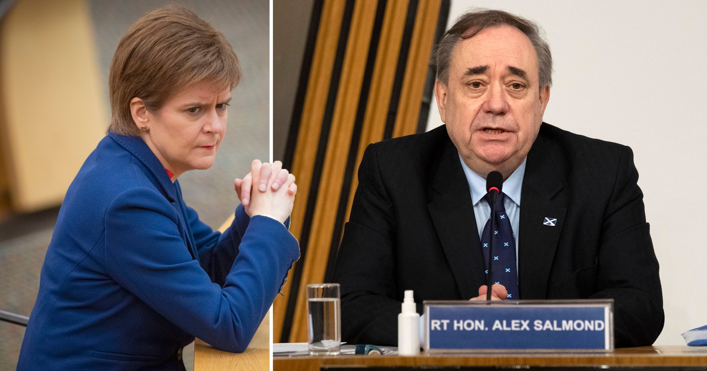 Nicola Sturgeon facing vote of no confidence over Alex Salmond case legal advice