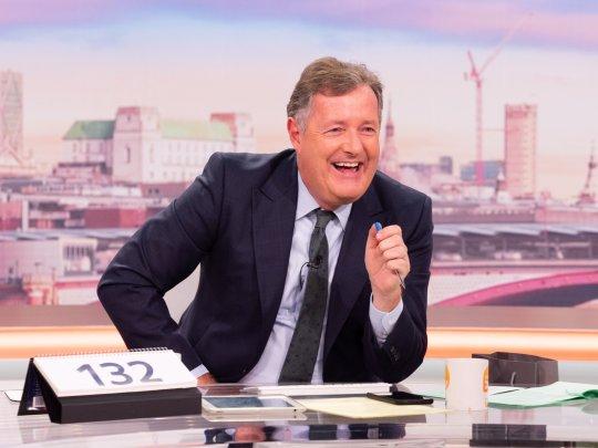 Piers Morgan sur Good Morning Britain.