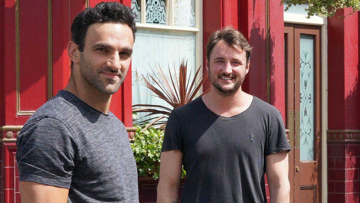 EastEnders' James Bye reveals Davood Ghadami is 'best mate he's ever had' after Kush Kazemi dies