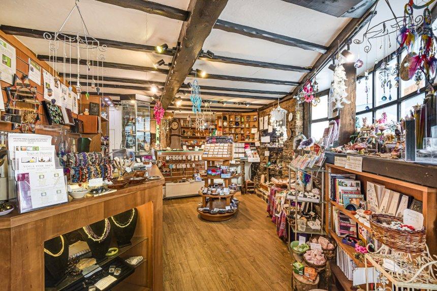 coffin house as a shop interiors
