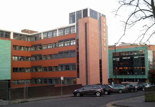 Abertay University in Dundee. Student Lisa Keogh investigated after saying women have vaginas and that men are stronger.