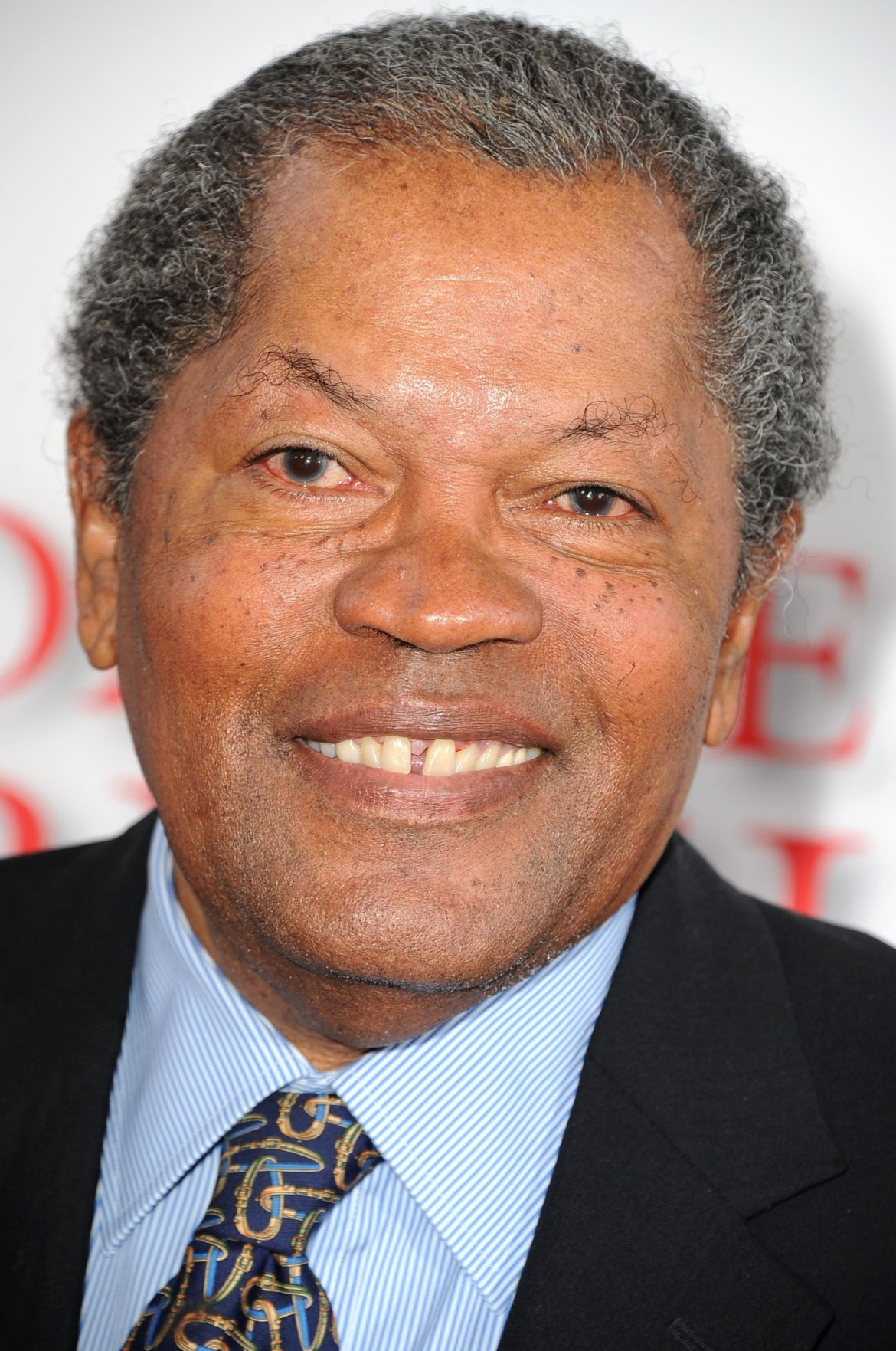 Clarence Williams III on red carpet