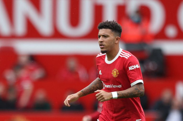 Jadon Sancho speaks out after Man Utd debut and hails Bruno Fernandes and  Paul Pogba link-up | Metro News