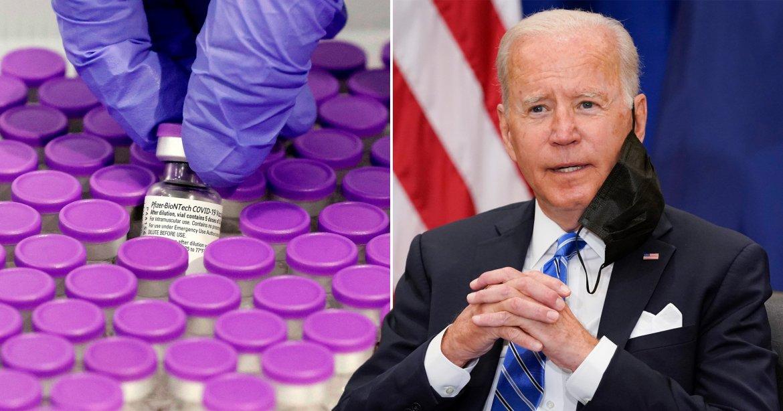 Joe Biden announces 500million vaccine donation and EU partnership   Metro  News