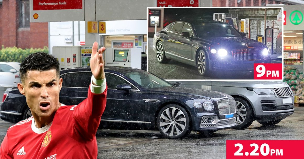 Cristiano Ronaldo's driver leaves petrol station after 7 hours with no fuel    Metro News