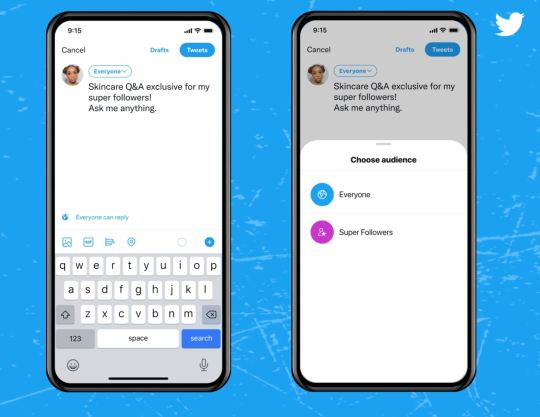 Super Follows has gone live in the US and Canada and will likely be coming to the UK in the next few weeks (Twitter)