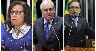 Senadores baianos votaram a favor da manutenção do afastamentode Aécio