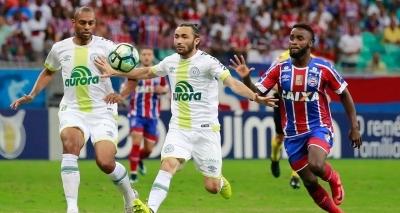 Bahia perde para a Chapecoense por 1 a 0 e se distancia do sonho da Libertadores