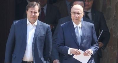 Maia quer minar candidatura de Meirelles à Presidência da República