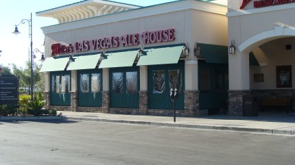 Miller's Ale House Las Vegas- Custom Awnings by Metro Awnings & Iron