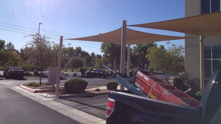 Functional & Beautiful Shade Structures - Vehicle Shade Structures