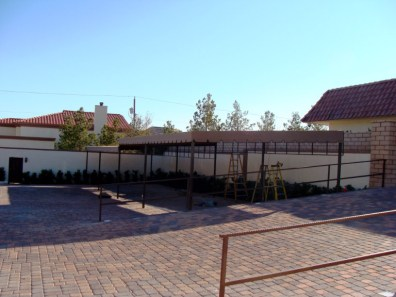 Custom Parking Shade Structure by Metro Awnings & Iron of Southern Nevada