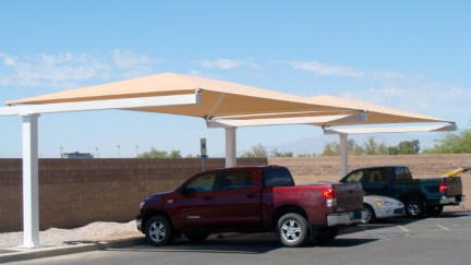 Custom Parking Shade Structure in Las Vegas, Nevada
